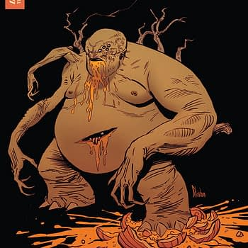 Pumpkinhead #4 cover by Kyle Strahm and Greg Smallwood