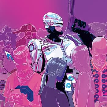 Robocop: Citizen's Arrest #2 cover by Nimit Malavia