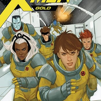 X-Men Gold #28 cover by Phil Noto