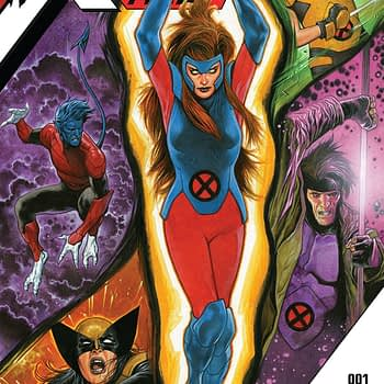 X-Men Red Annual #1 cover by Travis Charest