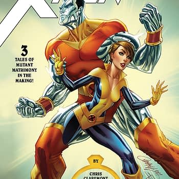 X-Men Wedding Special #1 cover by J. Scott Campbell