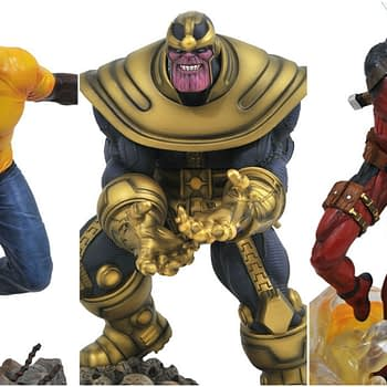 GameStop Marvel Gallery Statue Exclusives
