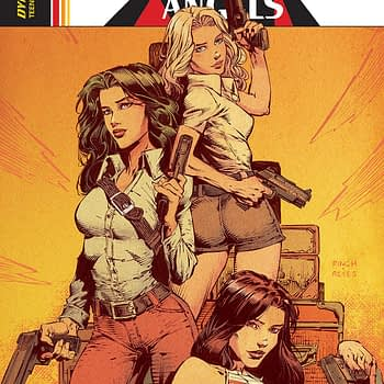 Charlie's Angels #1 cover by David Finch, Jimmy Reyes, and Triona Farrell