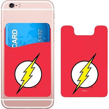 DC Comics Flash Logo Smartphone Card Holder Icon Heroes SDCC