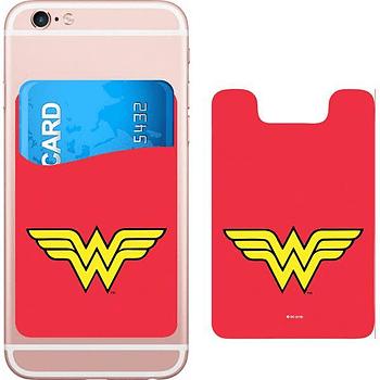 DC Comics Wonder Woman Logo Smartphone Card Holder Icon Heroes SDCC