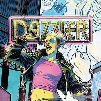 Dazzler: X-Song #1 cover by Elizabeth Torque and Ian Herring