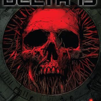 Delta 13 #2 cover by Nat Jones