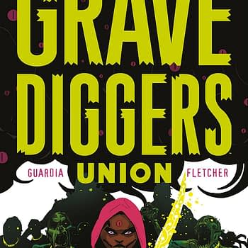 Gravediggers Union #7 cover by Wes Craig