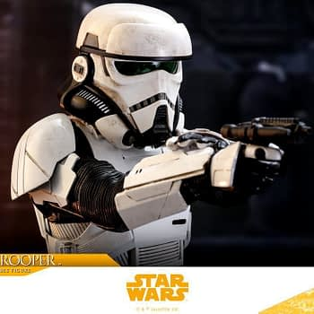 Hot Toys Solo Patrol Trooper 9