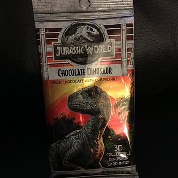 Nerd Food: Jurassic World Chocolate Dinosaur from Jelly Belly
