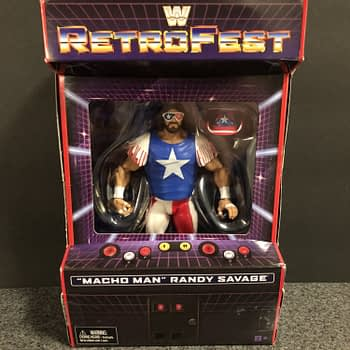 Mattel WWE Retrofest Macho Man Figure
