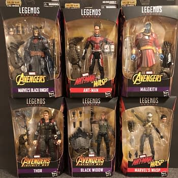 Hasbro Marvel legends Avengers Wave 2 1