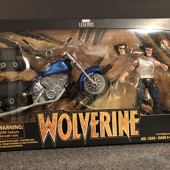 Marvel Legends Wolverine and Bike 1