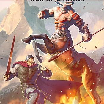 Konungar: War of Crowns #1 cover by Alex Ronald