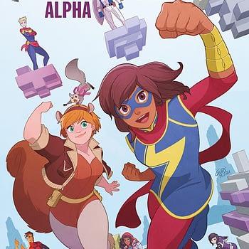 Marvel Rising: Alpha #1 cover by Gurihiru