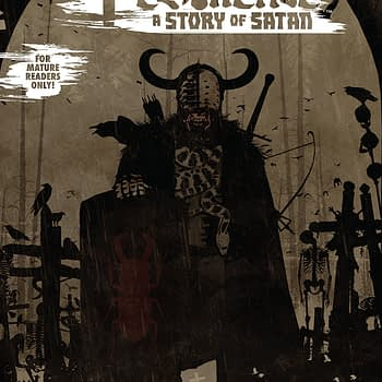 Pestilence: A Story of Satan #2 cover by Tim Bradstreet
