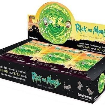 Rick and Morty Season 1 Trading Cards Box