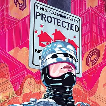 Robocop: Citizen's Arrest #3 cover by Nimit Malavia