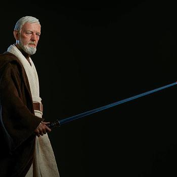 Sideshow Collectibles Star Wars Obi- Wan Kenobi Premium Format Figure 7