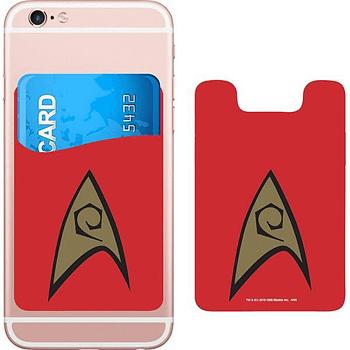 Star Trek Logo Smartphone Card Holder Icon Heroes SDCC 3