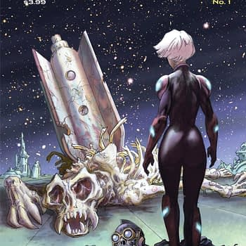 Stellar #1 cover by Bret Blevins