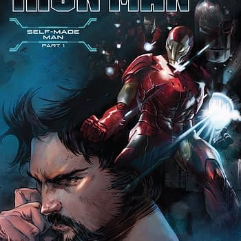 Tony Stark: Iron Man #1 cover by Alexander Lozano