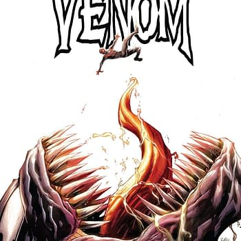 Venom #3 cover by Ryan Stegman, JP Mayer, and Frank Martin