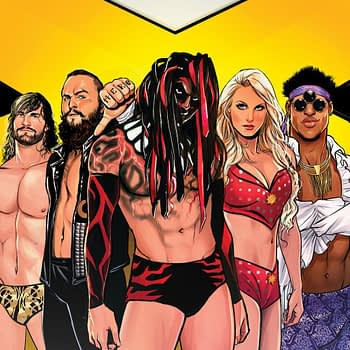 NXT Takeover Weekly Event Comic