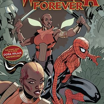 Amazing Spider-Man: Wakanda Forever #1 cover by Terry and Rachel Dodson