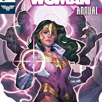 Wonder Woman Annual #2 cover by Yasmine Putri