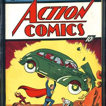 Action Comics #1 CGC 8.5 $2,007.500 Comic Connect Sales 6/11/2018