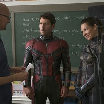 Ant-Man and The Wasp set photo