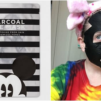 mickey mouse charcoal mask target
