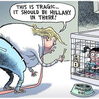 Rob Rogers cartoon trump immigration