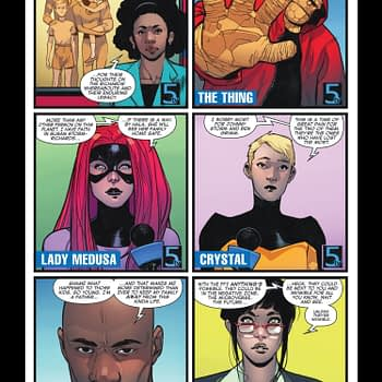 Fantastic Four #1 preview