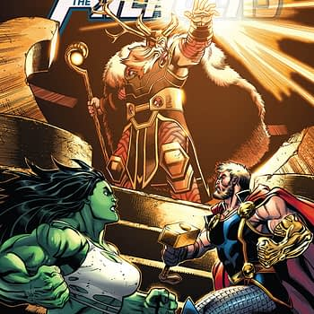 Avengers #4 cover by Ed McGuinness, Mark Morales, and Jason Keith