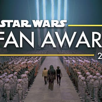 Star Wars fan awards banner