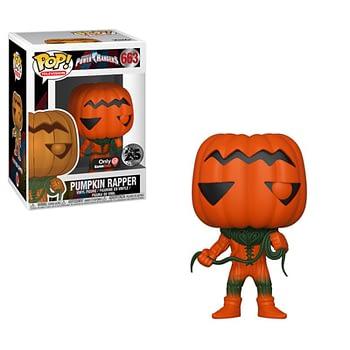 Funko Mighty Morphin Power Rangers Pumpkin Rapper Pop