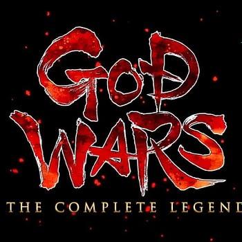 GOD WARS: The Complete Legends logo