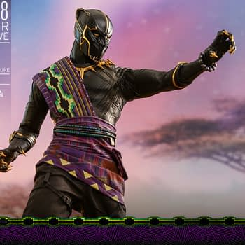 Hot Toys T'Chaka Black Panther 18