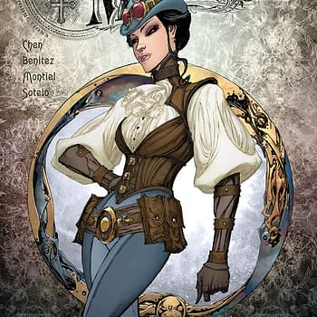 Lady Mechanika: La Belle Dame Sans Merci #1 cover by Joe Benitez and Beth Sotelo