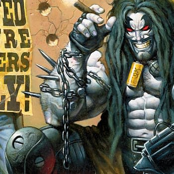 Lobo art by Alex Horley