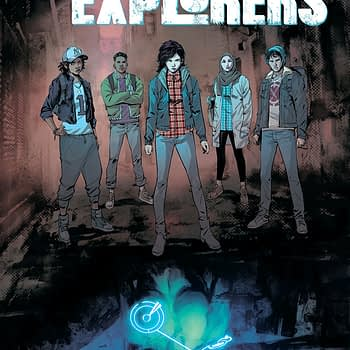 Lost City Explorers #2 cover by Rafael de la Torre and Marcelo Maiolo