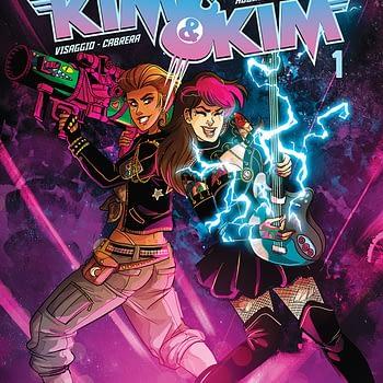 Oh S#!t It's Kim & Kim #1 cover by Eva Cabrera