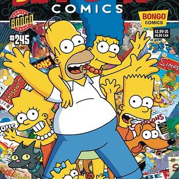 Simpsons comics last issue