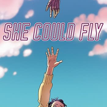 She Could Fly #1 cover by Martin Morazzo