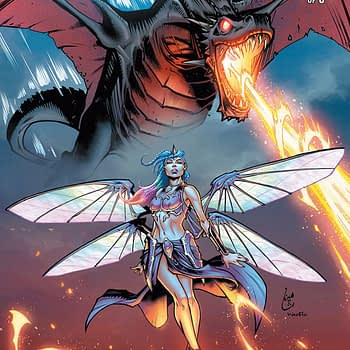 Soulfire Vol. 7 #1 cover by Chahine Ladjouze and Wes Hartman
