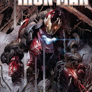 `Tony Stark: Iron Man #2 cover by Alexander Lozano