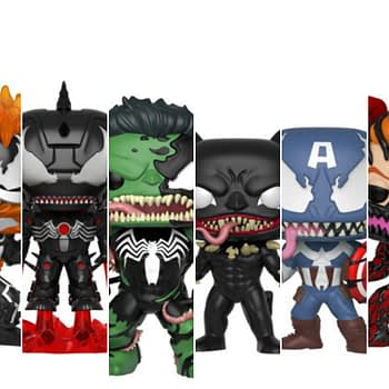Venom Funko Pop Collage