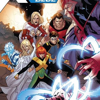 X-Men Blue #31 cover by R.B. Silva and Rain Beredo